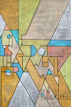 Week 17: Paul Klee on Behance