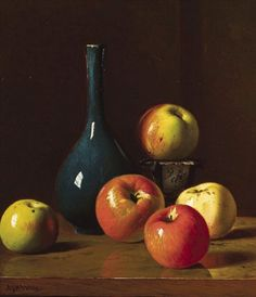 Andrew John Henry Way, Apples and Pottery,   19th century