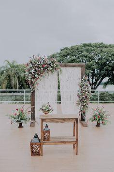 Um namoro à distância que começou em Ouro Preto foi eternizado em um lindo fim de tarde na Casa Pampulha, em Belo Horizonte.
