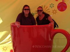 Hanging out in the Red Cup at the wisconsin state fair