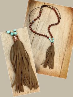 Tassles using the Knotty do it All