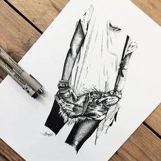 [ White Tee-shirt Blue Jean ] • Pour me contacter lildotart@gmail.com, sur Etsy (lien direct dans ma Bio), ou encore sur Facebook • #love #draw #drawing #inkonpaper #instadraw #instaart #art #artdrawing #artstagram #dot #dotwork #linework #dotlines #blackwork #tattoo #doodle #sketch #sketchbook #illustration #blackandwhite #lifestyle #lildotart #annabellejsc #mode #instamode #ootd #outfit #outfitoftheday