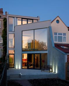 Hill Top House, Oxford private house by Adrian James Architects