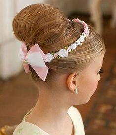Peinados recogidos elegantes para niñas - Collected hairstyle for childrens