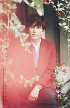 teaser images for Kyuhyun's new mini album 'Fall, Once Again