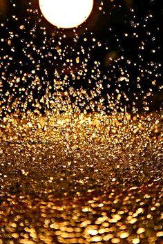 golden drops of light