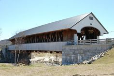 Covered Bridge in Plymouth, NH