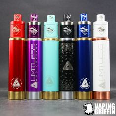 Limitless Mod | Tugboat v2 All available online now! Shop online: www.VapingGriffin.com