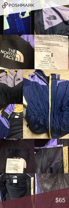 North Face winter/snow/ski parka jacket. North Face brand. Winter/snow/ski jacket. Hoodie. Several pockets. Very warm. Vintage. Lightly used. The North Face Jackets & Coats