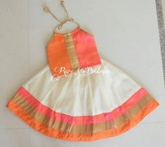 35 Super Ideas Baby Girl Dresses Traditional Best Picture For baby dress patterns newborn For Kids Party Wear Dresses, Kids Dress Wear, Kids Gown, Little Girl Dresses, Baby Dresses, Dresses For Children, Work Dresses, Dresses Dresses, Stylish Dresses