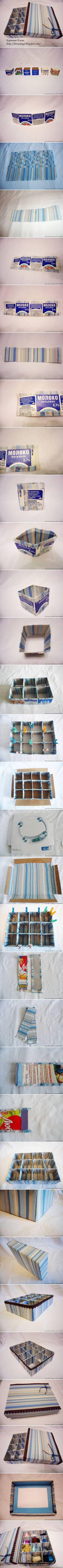 DIY Organizer with Divider DIY Projects | UsefulDIY.com Follow Us on Facebook --> https://www.facebook.com/UsefulDiy