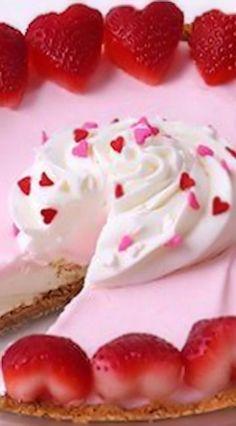 Sweetheart Marshmallow Meringue Pie