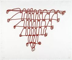 Louise Bourgeois, Crochet III, from Crochet I-V.