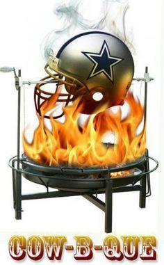 Redskins/Cowboys rivalry: Cow-B-Que