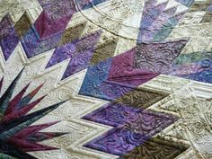 Amazon Star, Quiltworx.com, Made by Sharleen Fields, Quilted by Margaret Solomon Gunn  Margaret is an award winning quilter, and she is also...