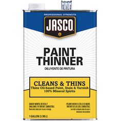 Jasco Gallon Size Can Fast to Dissolve Paint Thinner (Actual Net Contents: 128-fl oz)