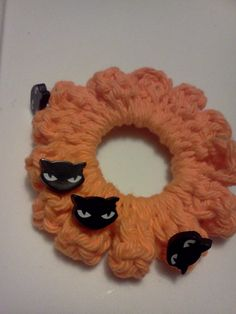 SCRUNCHIESFor your Hair For Halloween by grammalea on Etsy, $2.50