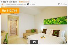 Cozy Stay Hotel adalah hotel bintang-2 yang terletak di jalan Gunung Soputan, area strategis yang memiliki akses mudah ke Kuta, Seminyak, dan Denpasar.Dilengkapi dengan outdoor dan indoor lounge di lt.1, kafe internet tanpa biaya di lt.2,internet Wi-Fi,Mesin Vending.Setiap kamar dilengkapi dengan dapur pribadi,balkon,dan kebun mini.