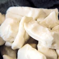 Home made cheese curd - I'm going to give this one a try!! ;) :D