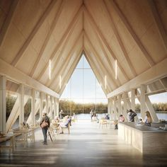 Gallery of RIBA Announces Competition Shortlist for Innovative Nature and Wellbeing Center in Sevenoaks - 9