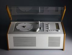 Braun SK 55 Record Player AM/FM Radio by Dieter Rams Design