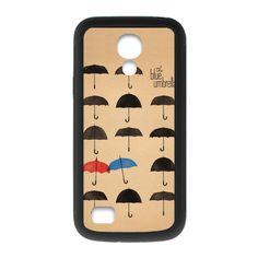 The Umbrella Red And Blue Umbrella Case for Samsung Galaxy S4 mini