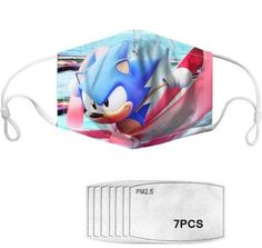 With adjustable ear loops, this is the perfect mask for your kids especially a speedy Sonic fan! Each mask comes with seven filters. If you choose to wear these mask with the filters, we recommend that you change the filters after one week. Fashion Mask, Mask For Kids, Ear Loop, Filters, Cool Designs, Australia, Change, Fan, Tote Bag