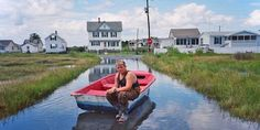 Tangier Island, a sliver of land in the Chesapeake Bay, is disappearing because of climate change.