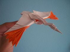 Flying Crane - Satoshi Kamiya by Oridziq, via Flickr