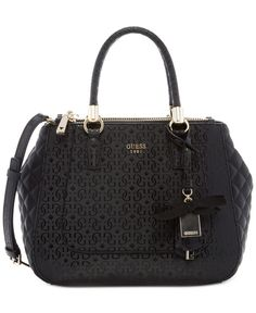 565f0df197a3 Guess Marian Status Satchel Guess Handbags