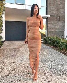 Tulle Prom Dress, Chiffon Maxi Dress, Dress Skirt, Dress Up, Bodycon Dress, Ruched Dress, Dress Long, Nude Dress, Party Dress