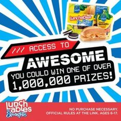 Lunchables Access Instant Win Game