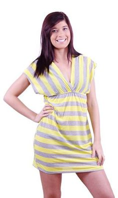 """Comfort Sport"" cover up in yellow Only at www.copabikinis.com"
