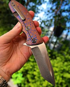 One of my favorites: @lambertknives Snap with mokuti bolster and mokuti lock…