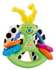 Fisher Price - Crinkle & Clack Butterfly (H9463)  Manufacturer: Mattel Barcode: 027084279436 Enarxis Code: 015503 #toys #Mattel #Fisher_Price #rattle