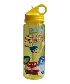 Disney Silver Buffalo Disney Pixar inside Out Everyday Tritan Water Bottle Multicolor * See this great product. 20 Oz Water Bottle, Fancy Water Bottles, Bpa Free Water Bottles, Bottle Bottle, Disney Kitchen, Refreshing Drinks, Inside Out, Making Out, Canning