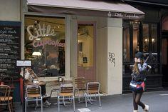 little cupcakes shop front. Melbourne