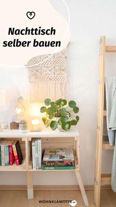 Ein eigenes Möbelstück anzufertigen, das klingt anfangs ziemlich schwierig. Mit der richtigen Anleitung und ein paar praktischen Tipps kannst Du Deine eigenen Ideen leichter umsetzen, als Du glaubst. Wir zeigen Dir, was Du alles brauchst, um mit Deinem ersten Projekt loslegen zu können. Interior Room Decoration, Diy Interior, Interior Decorating, Home Decor, Repurposed Furniture, New Furniture, Ikea Boxes, Diy Inspiration, Cool Diy Projects