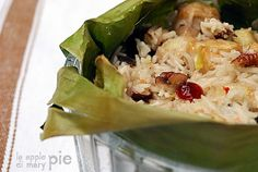 La Apple Pie di Mary Pie: Riso pilav esotico nelle foglie di banano