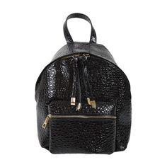 john-andy.com | JOHN-ANDY Μικρό Δερμάτινο Croc Backpack Crocs, Leather Backpack, Fashion Backpack, Backpacks, Bags, Accessories, Women, Handbags, Leather Backpacks