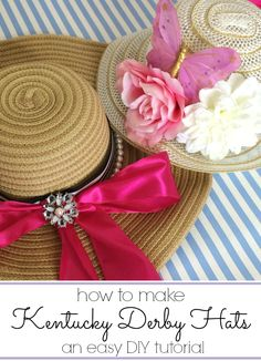 Create Your Own DIY Kentucky Derby Hat Masterpiece - thegoodstuff