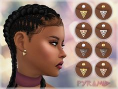 I wanted to create more ear jackets for sims, so here is what I came up with. Hope you like them.  Found in TSR Category 'Sims 4 Female Earrings'