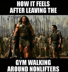 True, but then when I'm around other lifters I'm the guy on the right.
