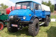 Unimog very big tires