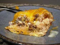 Simple Sausage Casserole - easy breakfast/brunch!
