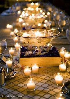 Romantic candle setting photography drinks light candles weddings