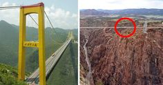 Top 10 Scariest And Craziest Bridges In The World Scary Bridges, Scary Places, Winding Road, Golden Gate Bridge, Aries, Paths, Luxury Homes, Architecture, World