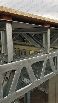 LEHKÁ-TENKOSTĚNNÁ-OCELOVÁ-KONSTRUKCE-PATIO (8) Steel Trusses, Roof Trusses, Steel Frame House, Steel House, Roof Design, House Design, Metal Stud Framing, Steel Structure Buildings, Structural Insulated Panels