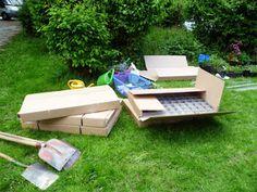 4. Wie Lego für Gärtner: Gabionen und Kokosmatten