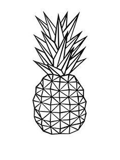 Your Living Room Decorazione Parete Pineapple